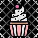 Cupcake Food Dessert Icon