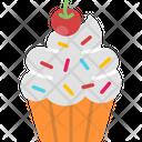 M Cupcake Icon