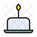 Cupcake Candle Sweets Icon