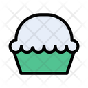 Cupcake Brownie Muffin Icon