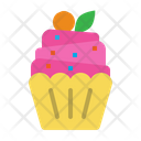Cupcake Bakery Cup Icon
