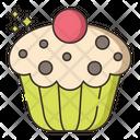 Cupcake Baking Frozen Dessert Icon