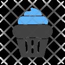 Cupcake Cream Icon
