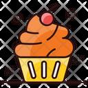 Cupcake Muffin Dessert Icon