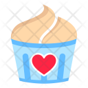 Cupcake Romantic Day Icon