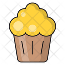 Cupcake Sweets Party Icon