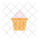 Cupcake Muffin Bakery Icon