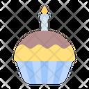 Cupcake Birthday Party Icon