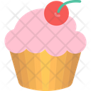 Cupcake Cake Party Icon