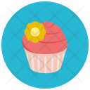 Decorated Cupcake Icon