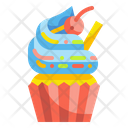 Cupcake Cake Pudding Icon