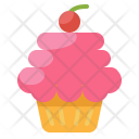Cupcake Sweet Bakery Icon