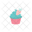 Cupcake Sweets Strawberry Icon
