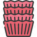 Cupcake cases Icon