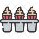 Cupcake tin Icon