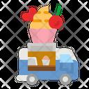 Cupcake Truck Cupcake Truck Icon