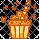 Cupcakes Birthday Pastry Icon