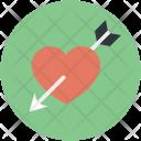 Cupid Arrow Love Icon