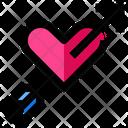 Cupid Bow Love Icon