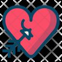 Cupid Amor Arrow Icon