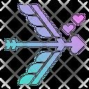 Bow Arrow Cupid Icon