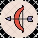 Cupid Bow Arrow Icon