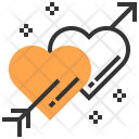 Cupid Heart Element Icon