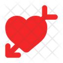 Cupid Love Heart Icon