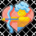 Cupid Love Valentines Icon