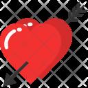 Arrow Cupid Love Icon