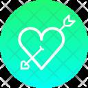 Arrow Marriage Cupid Icon