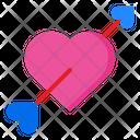 Cupid Arrow Romanctic Cupid Icon