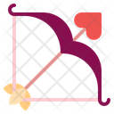 Cupid Arrow Arrow Love Icon