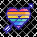 Cupid Arrow Love Arrow Fall In Love Icon