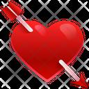 Cupid Arrow Arrow Love Arrow Icon
