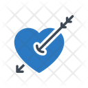 Cupid Heart Love Icon
