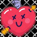 Heart Love Arrow Icon