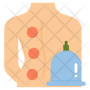 Cupping Therapy Traditional Icon