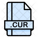 Cur File File Extension Icon