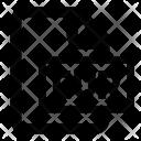 Cur File Cursor Icon
