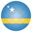 Curacao National Country Icon