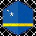 Flag Hexagon Hexagon Flag Icon