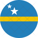 Curacao Flag Country Icon
