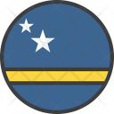 Curacao Country Flag Icon