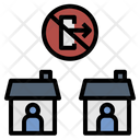 Quarantine Lockdown Curfew Icon