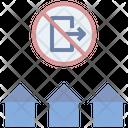 Curfew Lockdown Home Icon