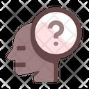 Curious Mind Brain Icon