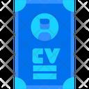Curirculum Vitae Icon