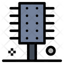 Curly Comb Icon