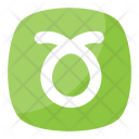 Curly Loop Button Icon
